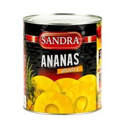 Ananas plastry SANDRA 3050g    Dua Khoanh To  SANDRA 3050gx6szt