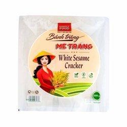 Cracker z białym sezamem SIMPLY FOOD 500g | Banh Da Me Trang SIMPLY FOOD 500gx30szt