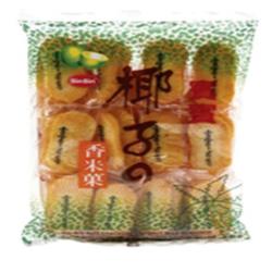 Krakersy ryżowe o smaku kokosowym BIN BIN 150g | Banh Gao Vi Dua 150g