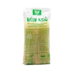 Makaron ryżowy  cienkie nitki TOTACO 500g | BUN XANH TOTACO 40szt/krt