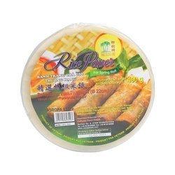 Papier ryżowy THREE COCONUT TREE 400g   Banh Trang Cha Gio Ba Cay Tre ASROPA 400g x 30szt/kar