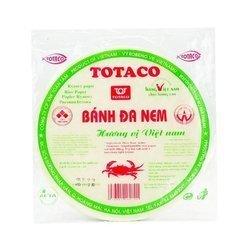 Papier ryżowy TOTACO 250g  | Banh Da Nem Con Cua 250gx80szt