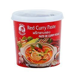 Pasta Curry Czerwona 1kg    Curry Do 1kgx12szt