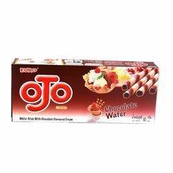 Rurki waflowe czekoladowe EURO OJO 80g | Banh Que Socola Thai 80g x 24szt/krt