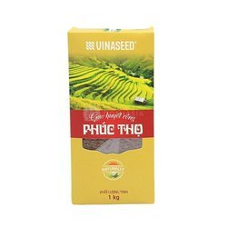 Ryż czerwony VINASEED 1kg   Gao huyet rong PHUC THO 1kg 20szt/krt