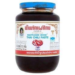 Tajska Pasta Chili MAEPRANOM BRAND  513g   | Chili Paste Nap Xanh MAE PRANOM 513gx12szt