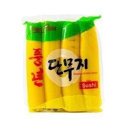 Żółta rzodkiew marynowana PANASIA 1kg | Cu Cai Vang 1kgx16szt
